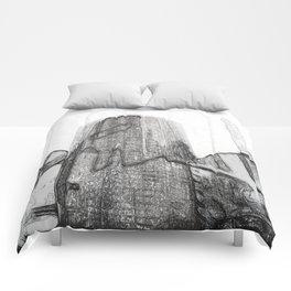 New York Facades #2 Comforters