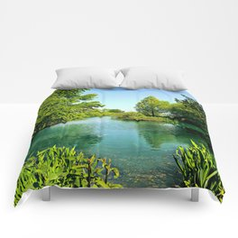 Aqua Lake Comforters