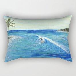 Old Hawaii 1 of 3 Rectangular Pillow