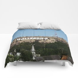 Cliche Hollywood Photo Comforters