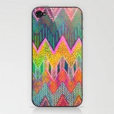 Tribal Chevron - Yellow iPhone & iPod Skin