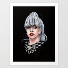 Harlequin  Art Print