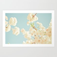 Cotton Candy In The Sky Art Print