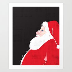 Christmas Be Good Sans Copy Art Print