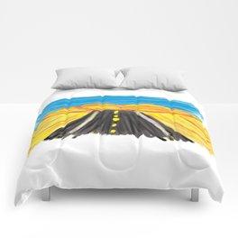 Desert Drive Comforters