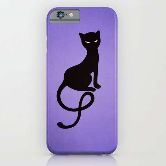 Gracious Evil Black Cat iPhone & iPod Case
