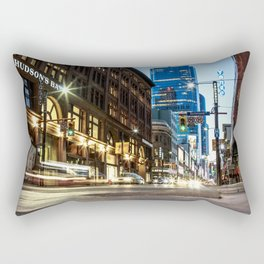 Yonge & Richmond Panorama - Toronto Rectangular Pillow