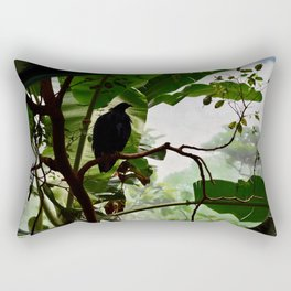 Peaceful day in nature Rectangular Pillow