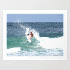 Surf! Art Print