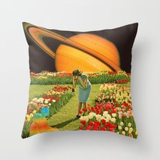 Visiting of the children Throw Pillow