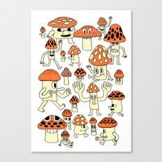 Fun Guys Canvas Print