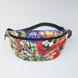 Garden Chock Full of Flowers Fanny Pack
