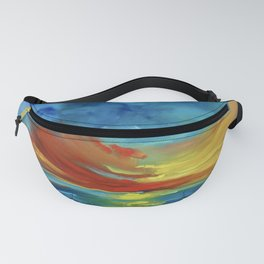 Sunset Over Hawaii Fanny Pack