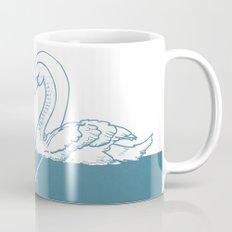 BE MY SWAN blue Mug