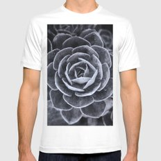 Something Out There White MEDIUM Mens Fitted Tee