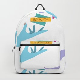 Reaching For Equality Backpack