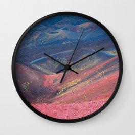 The Volcan Etna Wall Clock