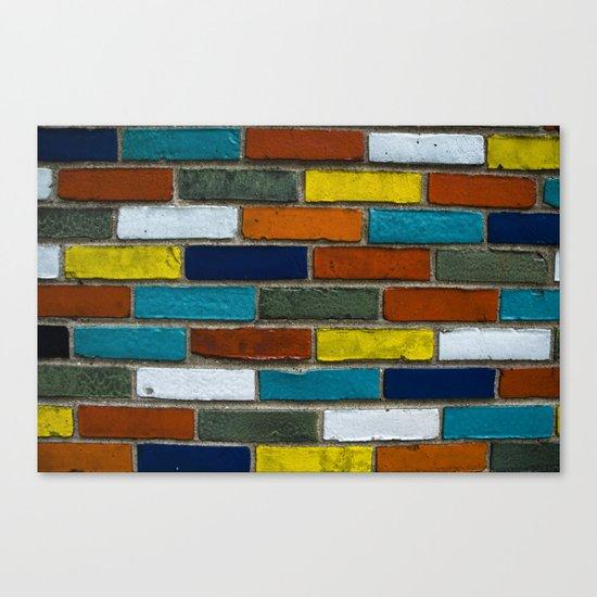 Color Wall Canvas Print