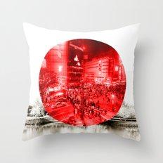 Land of the Rising Sun Throw Pillow