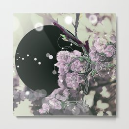 Birth and Death, Day and Night Metal Print