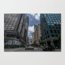 busy DT  Canvas Print
