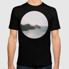 Ocean Black SMALL Mens Fitted Tee