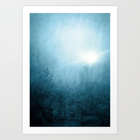 Cold Dawn Art Print