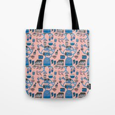 Pattern Project #17 / Bird Life Tote Bag