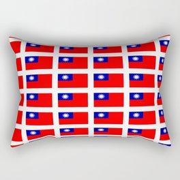 flag of taiwan -formosa,taipei,formosan,Taiwanese,hakka,matsu,台湾,臺灣. Rectangular Pillow