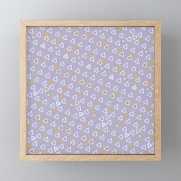 Diamond Pattern 5 Framed Mini Art Print