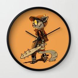 Cat Punk Wall Clock