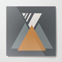 Desert Geometrics Metal Print