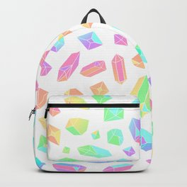 Rainbow Crystal Pattern Backpack