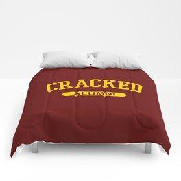 Cracked Alumni Comforters