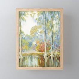 Alfred Hutty - Magnolia Gardens, 1920 Framed Mini Art Print