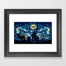 Starry Knight iPhone 4 4s 5 5c 6, pillow case, mugs and tshirt Framed Art Print