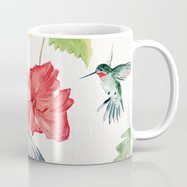 Hummingbirds and Hibiscus  Coffee Mug