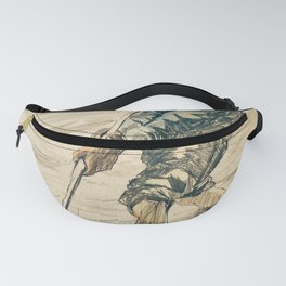 The Shell Fisherman by Vincent Van Gogh Fanny Pack