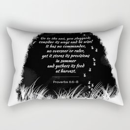 Go to the ant Rectangular Pillow