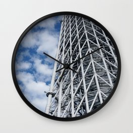 ARCH ABSTRACT 3: SkyTree Tower, Tokyo Wall Clock