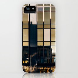 Surface Tension: Glasgow Centre iPhone Case