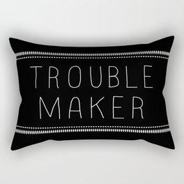 Troublemaker Rectangular Pillow