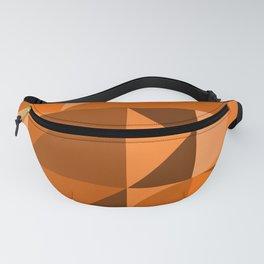 Desert Vibes Geometric Shapes in Terracotta and Burnt Orange Fanny Pack