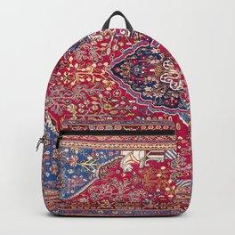 Qashqa'i  Antique Fars Persian Rug Print Backpack