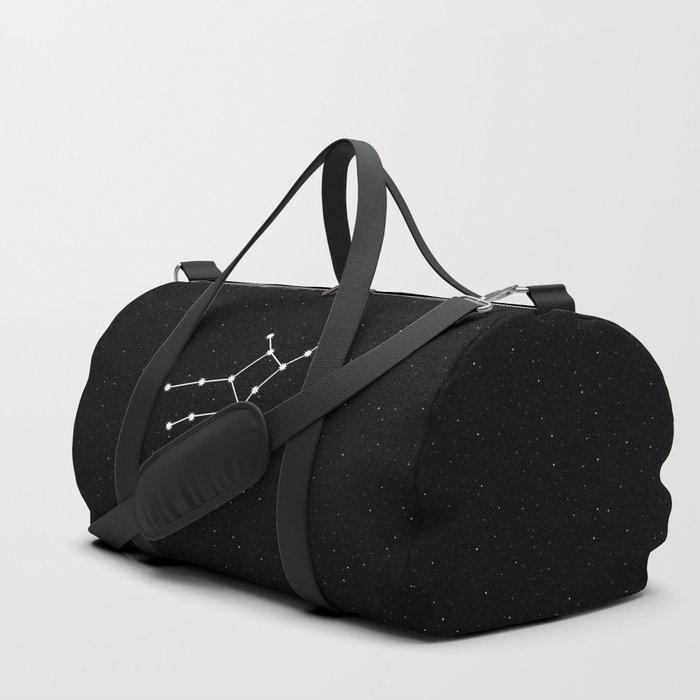 Virgo Star Sign Night Sky Duffle Bag