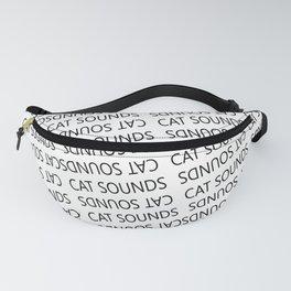 Cat Sounds Fanny Pack