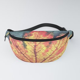 Leaf On Fire Fanny Pack