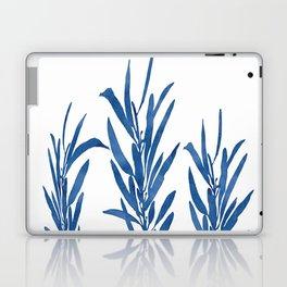 Eucalyptus Branches Blue Laptop & iPad Skin