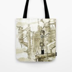 Old new city Tote Bag