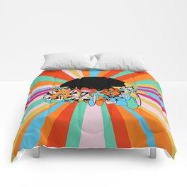 Eternally Floral Comforters